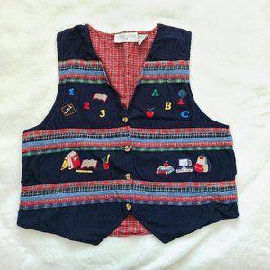 Vintage teacher vest